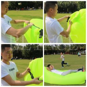 2016 Hot Sale Quick Inflating Sleeping Bag Sofa Bed Air Bed pictures & photos