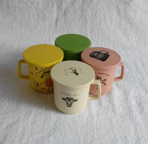 (BC-C1031) Natural Bamboo Fiber Tableware Cup/Mug with Print pictures & photos