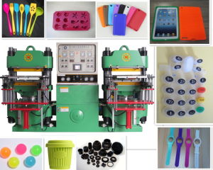 Double Station Rubber Smart Phone Case Vulcanizing Press Machine pictures & photos