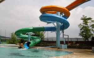 Tube Spiral Water Slide, Closed Water Slide for Water Park pictures & photos