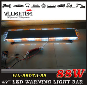Amber Police LED Strobe Light Bar pictures & photos