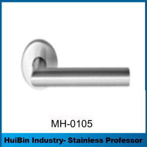 Big Discount Oval Hollow Lever Handle for Swing out Door with Brass / Aluminum Insert pictures & photos