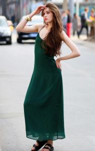 2015 Fashion Sexy Women Slip Long Dress for Lady pictures & photos