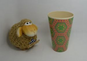 Bamboo Fiber Cup with Printed (BC-CP1005) pictures & photos