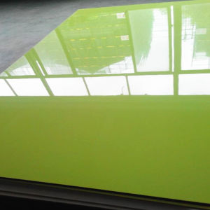 Apple Green Solid Color UV Sheet (ZH-3919) pictures & photos