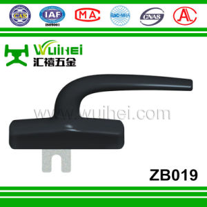 Aluminium Alloy Layer with Zinc Alloy Base Single Tongue Handle for Window (ZB019) pictures & photos