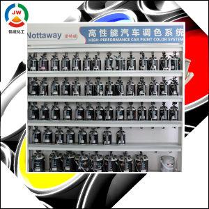 Jinwei Hot Sale Silver Grey Color Metallic Car Paint Aluminum Gray Color Auto Paint pictures & photos