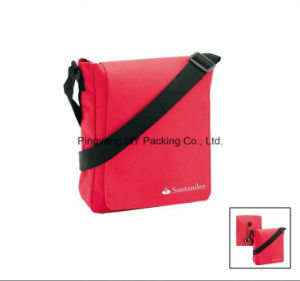 Customized PP Nonwoven Messenger Shoulder Bag pictures & photos