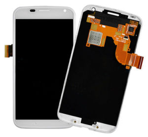 LCD Screen Touch Screen with Frame for Motorola Moto X pictures & photos