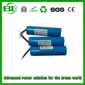 BMS Managed 3.7V 2.6ah Rechargeable Li-ion Battery pictures & photos