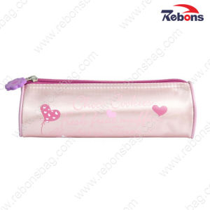 Fashion New Cute Girls Round Zip School Pencil Bags pictures & photos