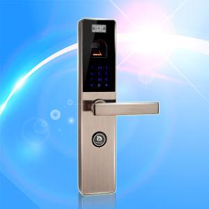 Fingerprint Recognition Door Lock (UL-680) pictures & photos