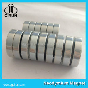 N35 30*5mm Cylinder Disc NdFeB Permanent Magnets pictures & photos