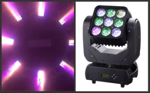 9 PCS 10W CREE LED Wash Light Moving Head