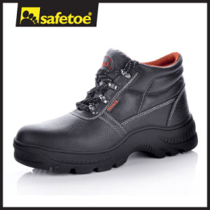 Leather Steel Toe Safety Shoes with Steel Toe for Safetoe Safety Shoes M-8010 pictures & photos