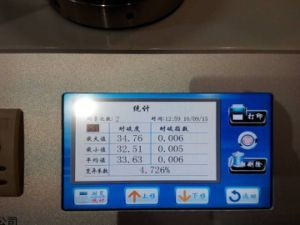 Automatic Bursting Strength Tester pictures & photos