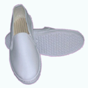 Full Leather Shoe Cover Design ESD Shoes pictures & photos