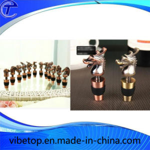 Custom Wholesale Metal Wine Stopper Mws-025 pictures & photos