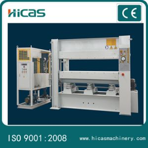 Short Cycle Melamine Laminating Machine Hot Press for Wood pictures & photos