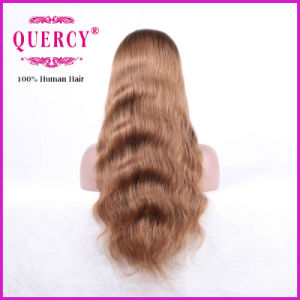 Hot Selling Colored Wavy Human Hair Lace Wig Wholesale pictures & photos