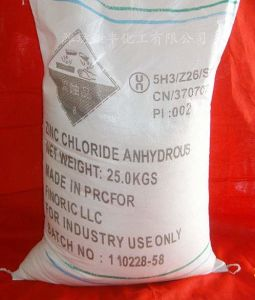 From China Supplier Industrial Grade Anhydrous Zinc Chloride pictures & photos