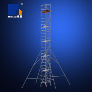 Single Width Scaffolding with Vertical Ladder 10.2m pictures & photos