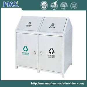 Outdoor Push Lid Recycling Bin for Sale pictures & photos