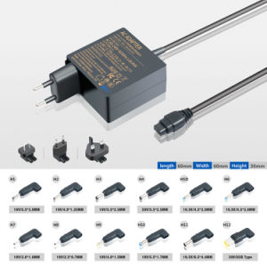 Kfd 45W Universal Ultrabook DC Power Adapter Wall Charger pictures & photos