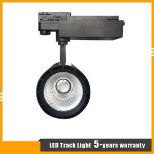 2/3/4-Wire 20W/30W/40W CREE COB LED Track Light for Commercial Lighting