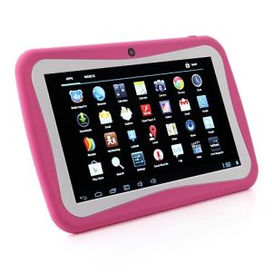 "Child Tablet PC M755 Quad Core 7"" 1024*600 512MB RAM 8GB ROM Android 5.1 OS Tablet PC Pink Color pictures & photos"