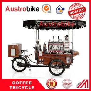 Fast Food Tricycle Coffee Vending Cart Coffee Bike 4 Wheel Coffee Bike