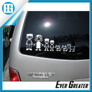 High Quality Vinyl Family Sticker for Cat Window pictures & photos