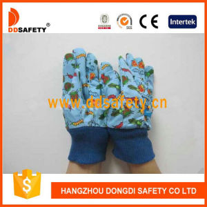 Ddsafety 2017 Blue Cotton Garden Gloves pictures & photos