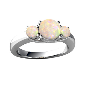 Guangzhou Manufacture New Jewelry Opal Ring pictures & photos
