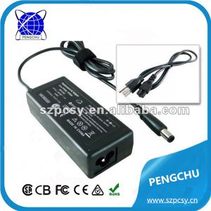 18.5V 3.5A for HP/Compaq AC DC Adapter/Adaptor 65W with 7.4 X 5.0mm