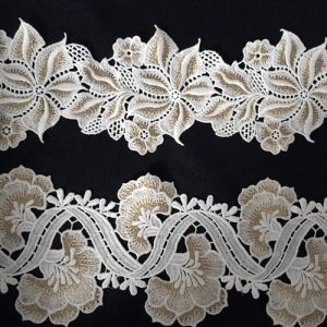 Gold Lace Fabric for Sale pictures & photos