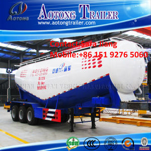 Factory Supply 3 Axles Bulk Cement Tanker Semi Trailer pictures & photos