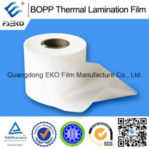 18mic Jumbo Roll BOPP Thermal Lamination Film for Printing Fatory pictures & photos