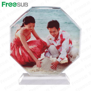 Freesub Octagonal Screen Blank Sublimation Crystal (BSJ26C) pictures & photos