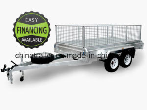 10X6 Hot Dipped Galvanized Fully Welded Tandem Box Trailer pictures & photos