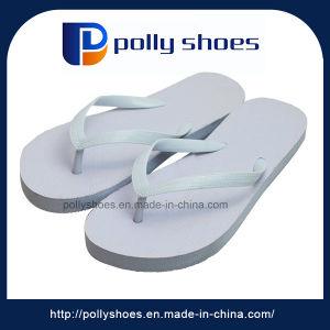 Cheap White Sole Custom EVA Ladies Indoor Slipper pictures & photos
