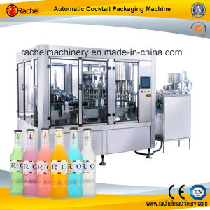Cocktail Automatic Filling Capping Monoblock pictures & photos
