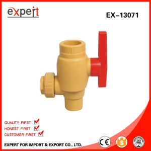 PPR Single Female Threaded Ball Valve with Brass Ball Ex-13071