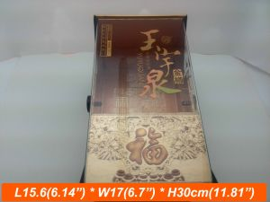 Clear UV Printing Wood Acrylic Box Packaging Gift Box
