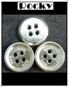 Metal Alloy Button Fashion Shirt Button with Oeko Standards pictures & photos