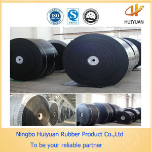 Black Fabric Heavy Duty Rubber Belt (SGS Certified) pictures & photos
