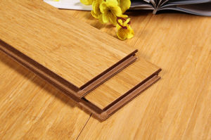 Natural Strand Woven HDF Bamboo Flooring pictures & photos