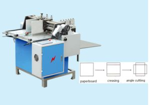 Zx-600 Paper Board Creasing and Angle Cutting Machine pictures & photos