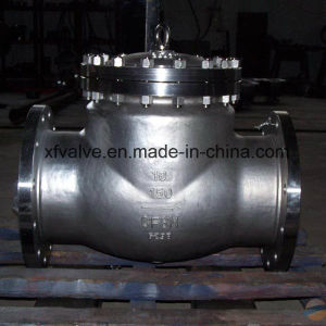 API Standard Cast Stainless Steel Flange End Check Valve pictures & photos