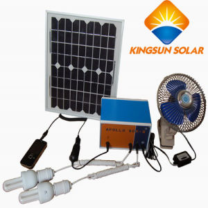 100W High Efficiency Home Solar Power System pictures & photos